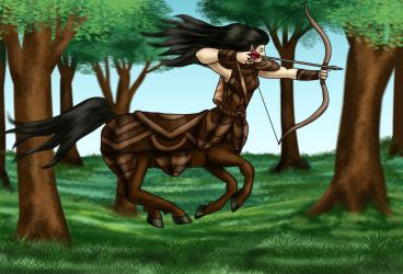 Comm - Aerlona running by dragondoodle