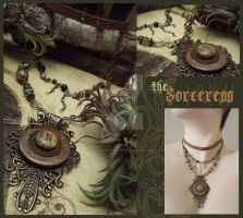 the Sorceress by LuthienThye