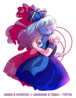 Sapphire Squared by JadineR