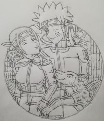 You are my Friend(s)!(Sketch) by Wulfsista
