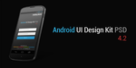 Android UI Design Kit PSD 4.2 by ghost301