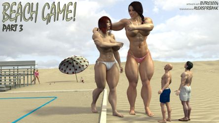 Beach Game part III by butre3004