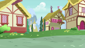 [Background] Ponyville by Comeha