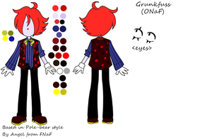 Grunkfuss mini reference(ONaF) by Angel-from-FNaF