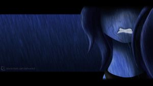 When Ponies Cry - Luna by SiMonk0