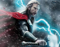 God of Thunder by B2DaRice