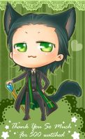 :Loki: Thank for 500 watch ^u^ by PrinceOfRedroses