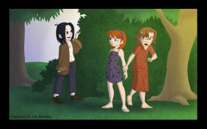 Sev Hiding in the Bushes by Jade-Fire22