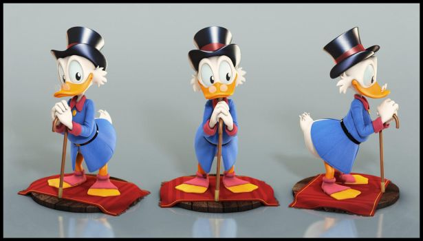 Uncle Scrooge: Portrait by EderCarfagnini