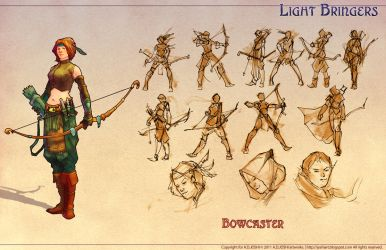 DnD Fantasy -Bowcaster by Atomic-Hermit