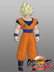 DBFZ Goku SSJ for XPS by KSE25