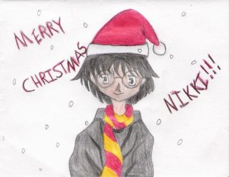 HP - Merry Christmas Nikki by Harry-J-Potter-Club