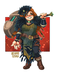 Commission - Mog Stoneheart by Orcagirl2001