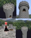 MMD Unreachable princess tower_stage