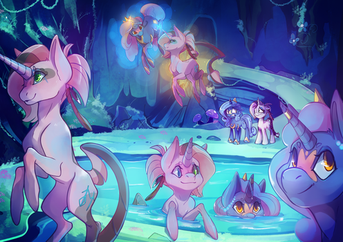 [Collab] Mirror Pool by Stickaroo