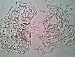 The Thing Vs The Symbiote by CharlesCombs8526