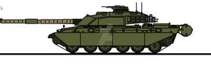 Challenger 1 Mk.1/2 by thesketchydude13