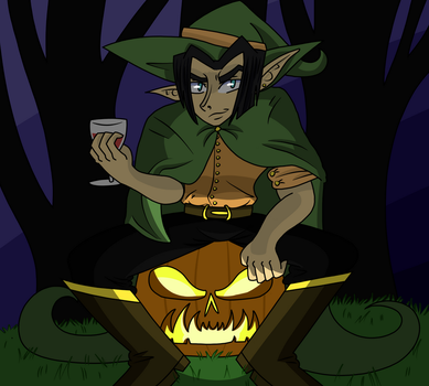 Trick or Treat by bamf11