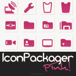 IconPackager Pink by FridaKltz