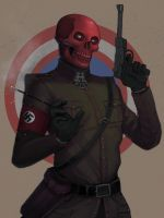 The Red Skull by Teratophile
