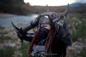 Daedric armour 03 by static-sidhe