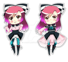 .:UTAU:. Aika Heion MP Chibi's by A-Daiya