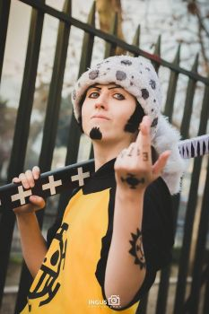 Trafalgar Law cosplay by Katty-z