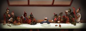 TF2 - My Birthday Supper by worksofheart