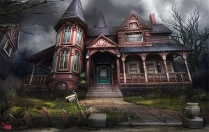 Haunted Victorian House by Dedyone