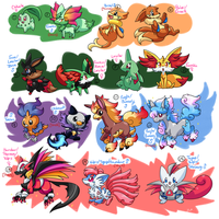 PKMNation :: Mess of Clutches by MahoxyShoujo