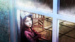 Clementine at the window by Yhrite