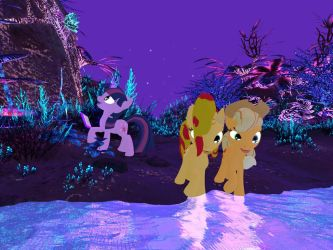My Little Pony - Alien Planet Glise 03[Poser] by Naduron0