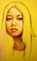 a young yellow girl by Beulette