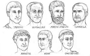 Roman Portraits by lycanthropeful