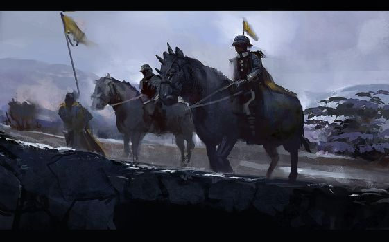 Cavalry Speed Paint by eWKn
