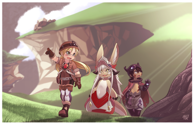 Made In Abyss (FAN ART) by phation
