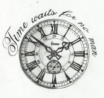 Time Waits For No Man by xoslipintoatragedyxo