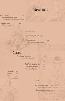 Le Quiche Appetizers and Soups by akumadorobo