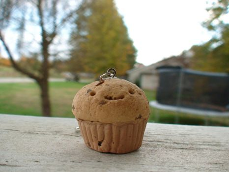 Chocolate chip cupcake by IfYouCouldHugASloth