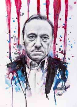 Frank Underwood - House of Cards by DeniseEsposito