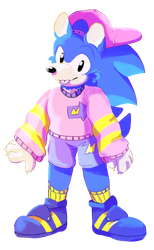 Sonic's FAVE clothes by AzureDreamrealm