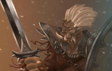 Warrior Orc by StormXF3