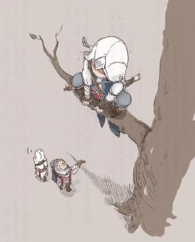 Assassins don't climb trees by Tio-Trile