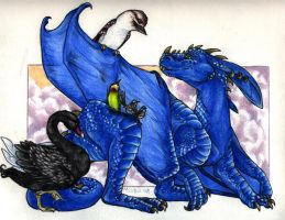 The Southern Hemisphere Fauna by Dragonmistral
