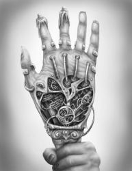Hand of Glory by Sheblackdragon