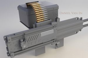 Twin Linked Machine Gun by Quesocito