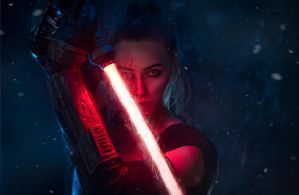 Dark Rey cosplay by EnotArt