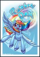Sonic Rainboom-Badge commission by BlindCoyote