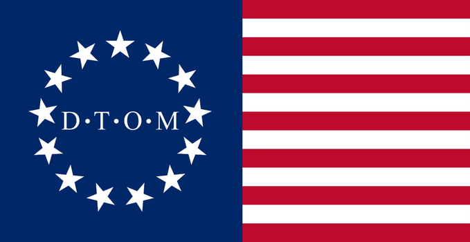 Flag of the United States of America by RvBOMally
