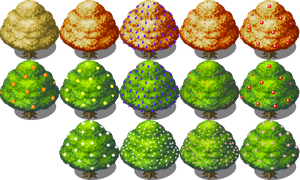Trees [RPG-Maker-MV] by petschko